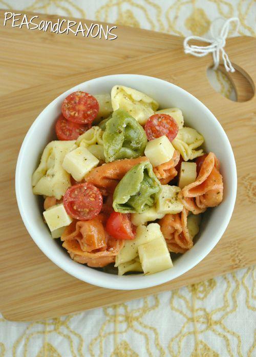 Tortellini Pasta Salad | recipes | Pinterest