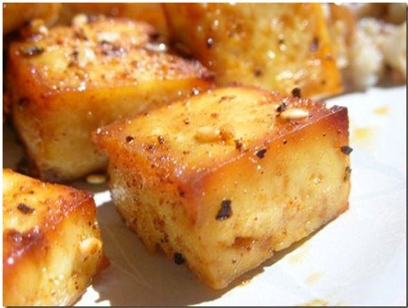 Baked tofu recipe | Food | Pinterest
