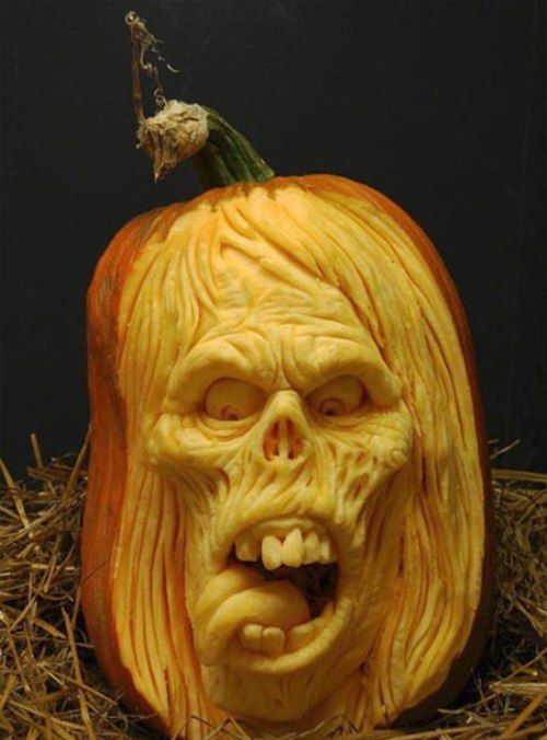 Awesome pumpkin carvings art graphic web design Awesome pumpkin drawings