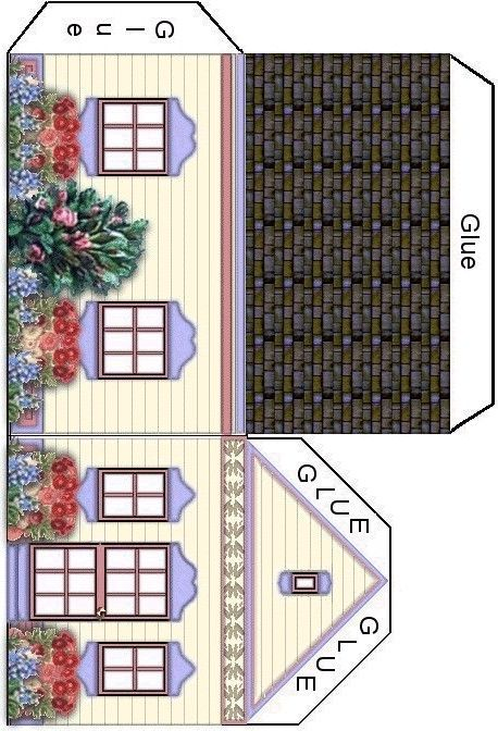 This is a graphic of Exhilarating Free Dollhouse Printables