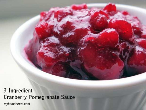 -Cranberry-Pomegranate-Sauce Recipe - RecipeChart.com #Christmas ...