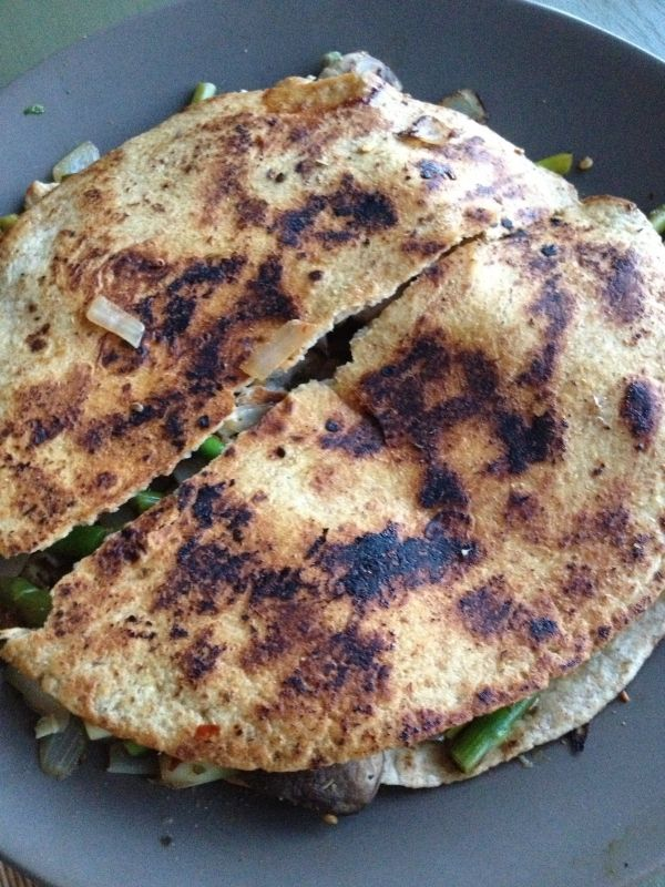 Asparagus and Goat Cheese Quesadillas - 7 Quesadilla Recipes to Shake ...