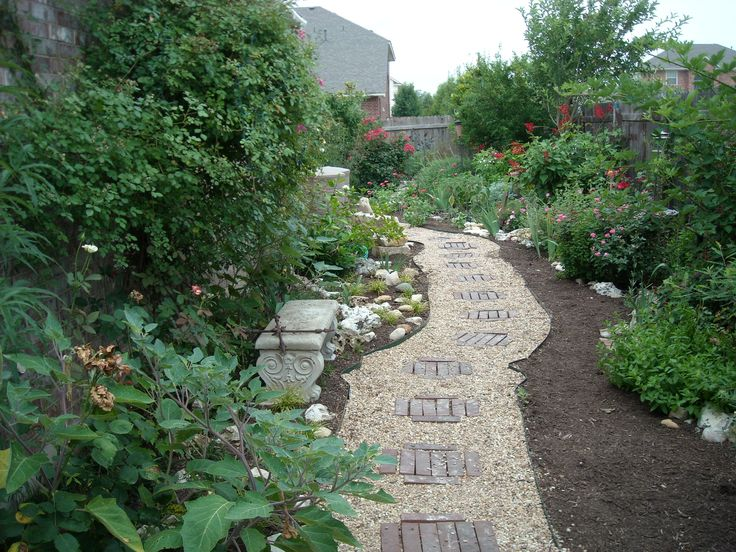 Xeriscaped Backyard Design : xeriscaped  rock gardens  Pinterest