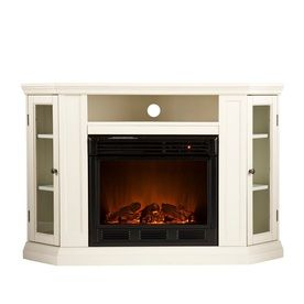 ELECTRIC FIREPLACES: CORNER ELECTRIC TV STAND FIREPLACES