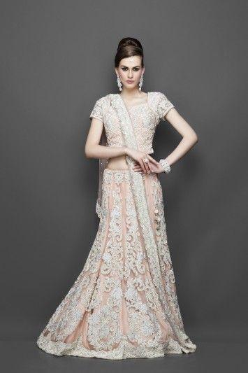 White indian bridal dresses