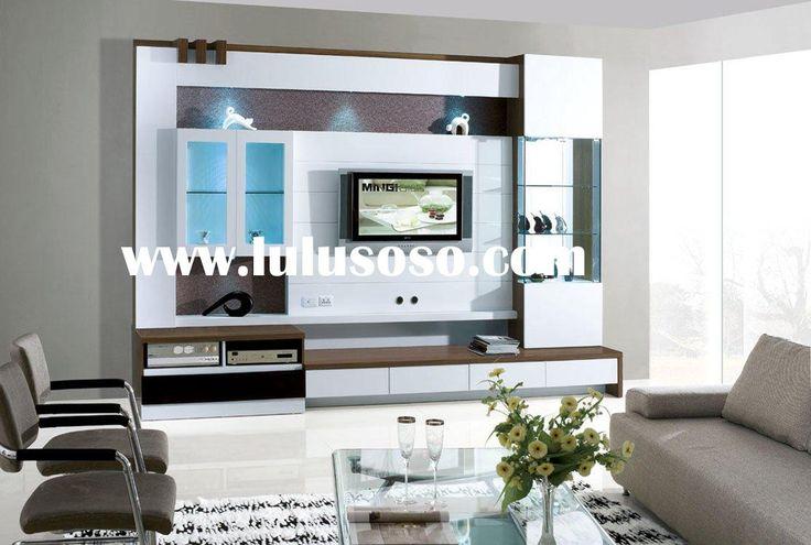 Lcd Tv Cabinet Designs Photos : modern lcd tv cabinet  Basement main room  Pinterest