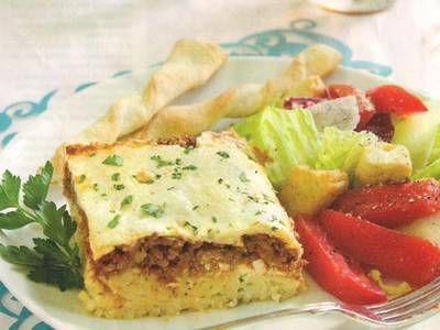 Lasagna Style Baked Spaghetti | Manicotti, rotini, rigatoni, vermicel ...
