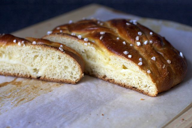 Braided lemon bread. I will make this some day when I need to impress ...
