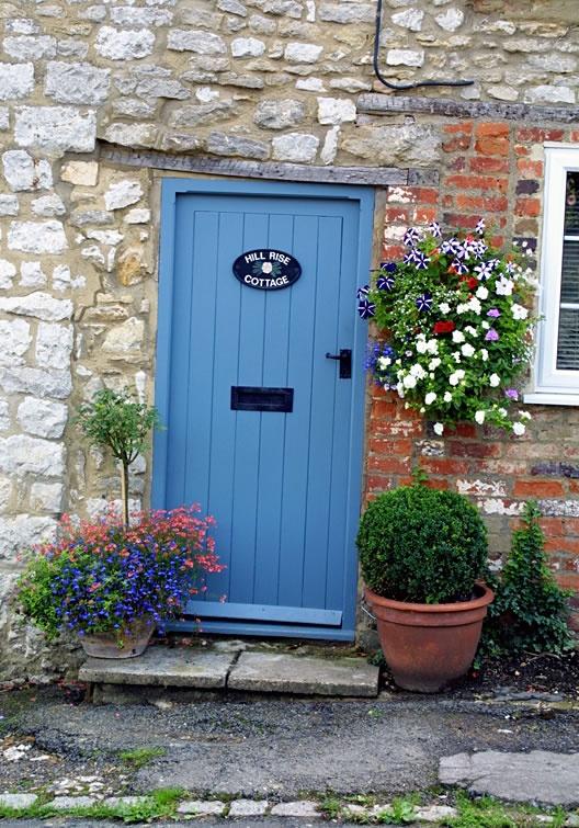 The Cottages Front Door Garden Pinterest