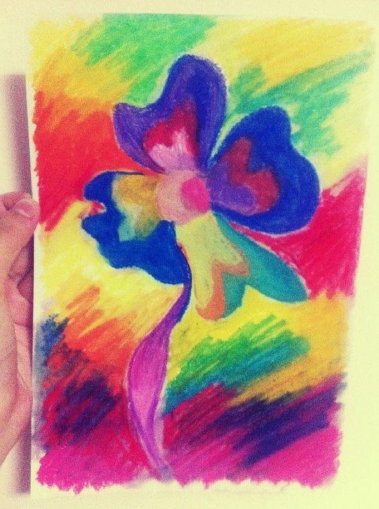 Blended Oil Pastels Children 39 S Art Ideas Drawing