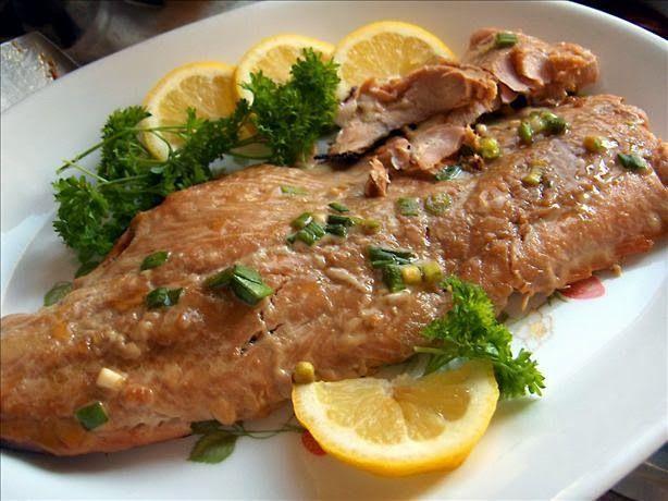 Honey Ginger Grilled Salmon.   ~f o o d~   Pinterest