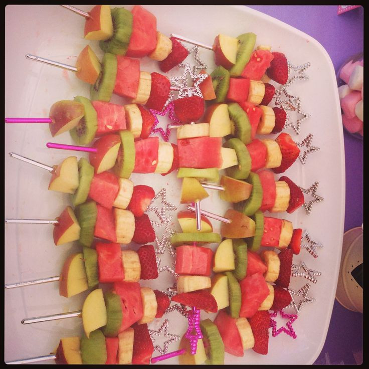 Fruit wands | Tast The Rainbow of Fruit Flavors | Pinterest