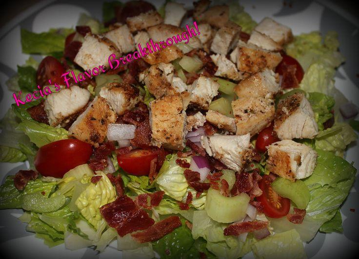 Chicken BLT Chopped Salad | Kecia's Flavor Breakthrough! | Pinterest