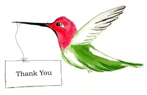 Thank You Card, Hummingbird Messages | Hummingbird Messages | Pintere ...: www.pinterest.com/pin/342344009144197464