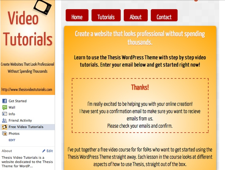 thesis theme tutorial videos About thesis theme tutorial | thesis theme tutorial in this thesis theme video tutorial lesson you will to apply unique styling to individual pages, posts and archives.
