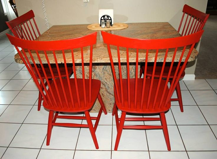 painted kitchen chairs home