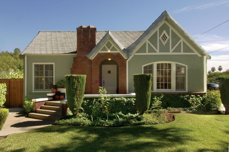 Charming 1925 English Tudor Cottage Home Styles Misc