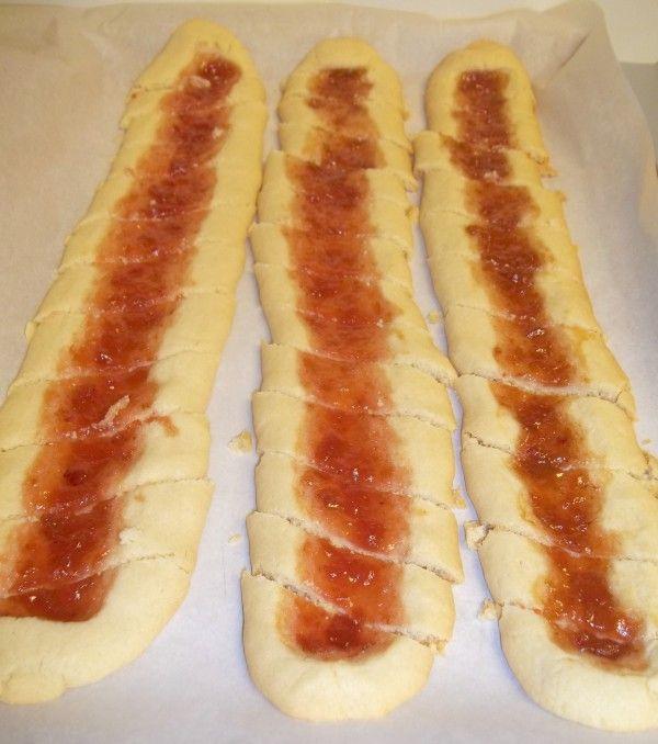 Shortbread Cookies Recipe with Jam Center, AKA Split Second cookies