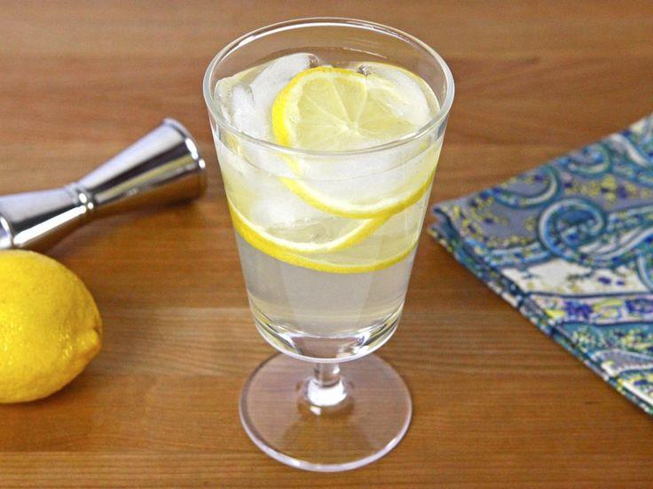 Vanilla Lemon Drop Cocktail with Infused Vanilla Vodka