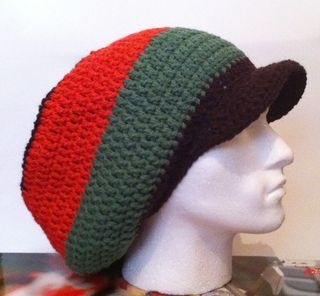 Easy Crochet Rasta Hat Pattern : CROCHET RASTA BLANKET PATTERN Crochet Patterns Only