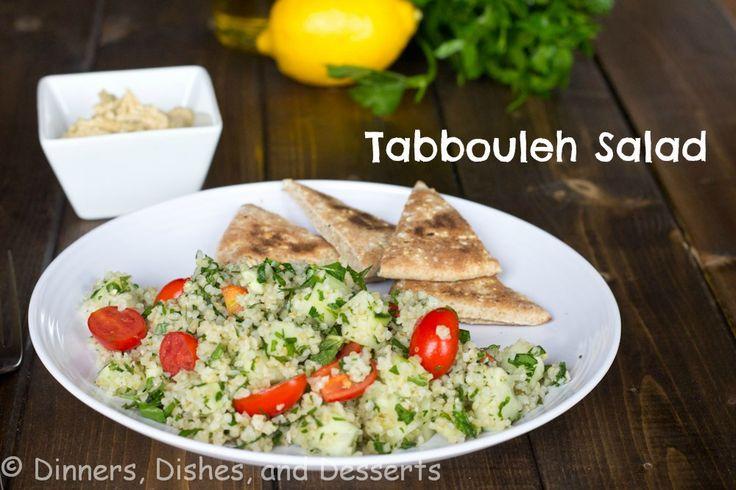 Tabbouleh Salad @Dinnersdishesdessert