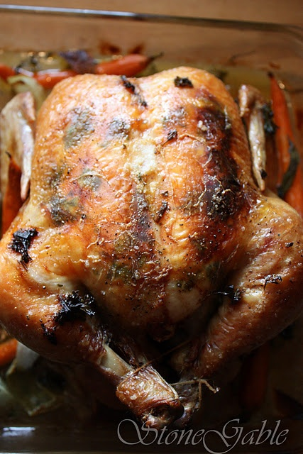 Ina Garten's Perfect Roast Chicken~you want people to love you forever ...