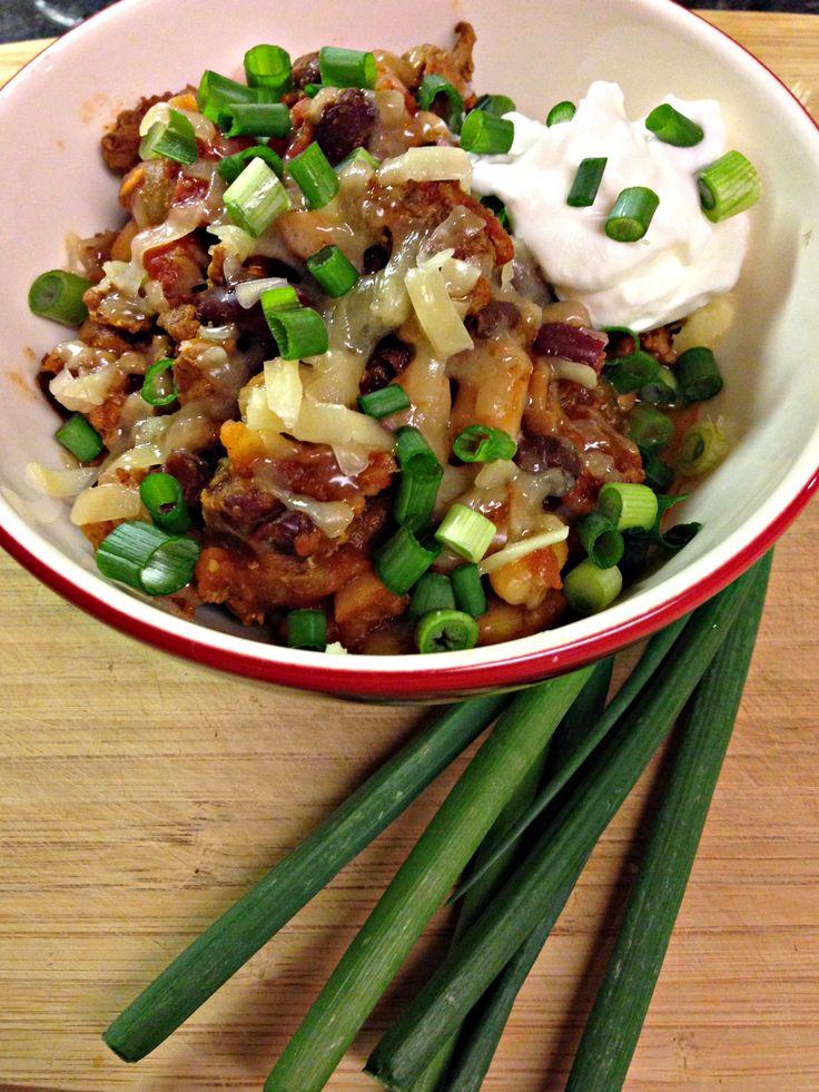 Three Bean Turkey Chili | Recipes | Pinterest