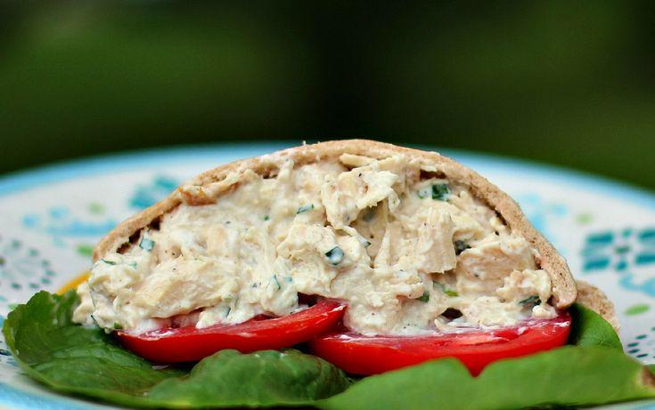 Tarragon Chicken Salad | lunch-a-lot | Pinterest