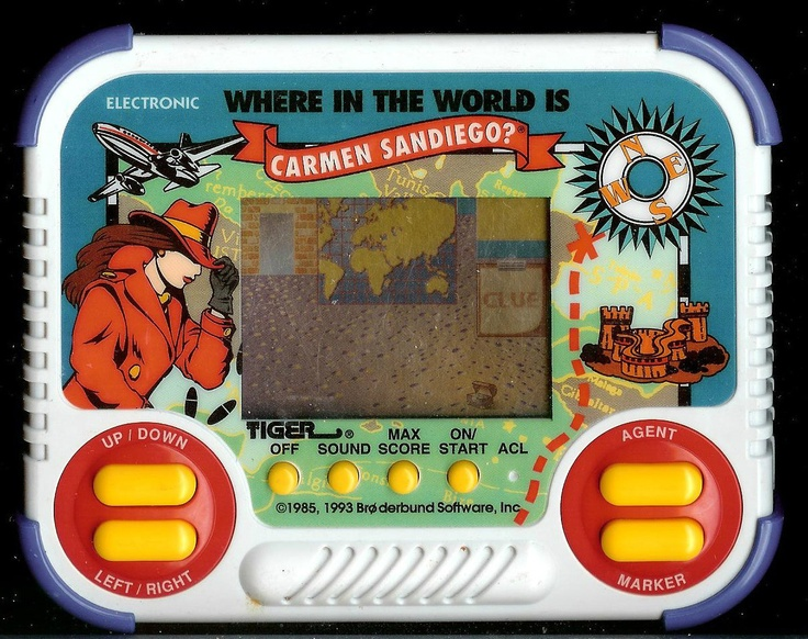 tiger electronic games