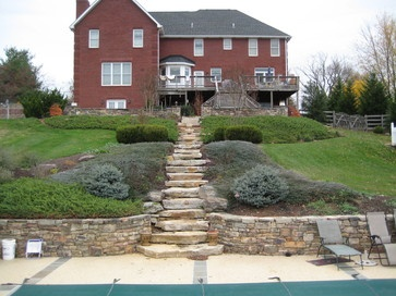 Outdoor Stairs On A Hill Google Search Inspirations