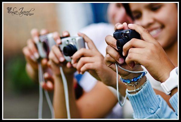 Teaching photography to children