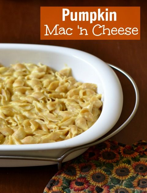 Pumpkin Macaroni and Cheese | Real Food Real Deals #healthy #recipe