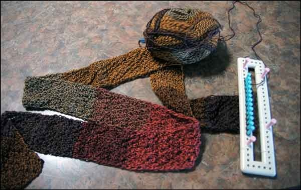 Knitting With Looms: Martha Stewart Loom Loom Knitting! Pinterest