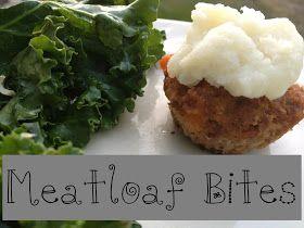 Simple Little Home: Meatloaf Bites | Recipes | Pinterest