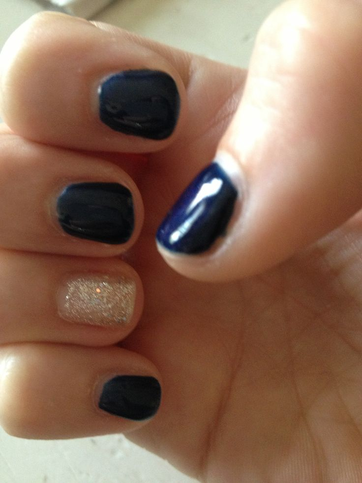 shellac nails for 4th of July! #nails | Sooooo Pretty | Pinterest