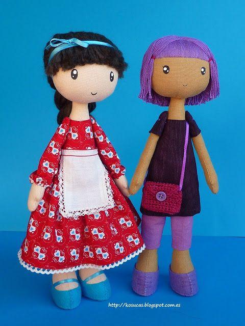 Ткань куклы, Kosucas.