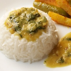 palak dal - spinach with lentils by vegrecipesofindia with cucumber ...