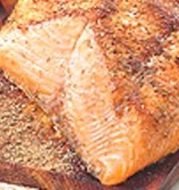 Drick's Rambling Cafe: Cedar Plank Grilled Salmon with Lemon Paprika ...