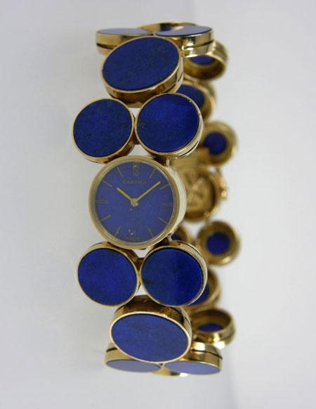 Vintage Lapis Cartier Watch