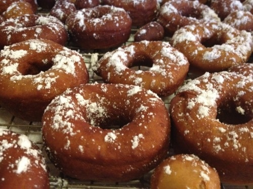 Gingerbread Doughnuts | Does this recipe make me look fat? | Pinterest