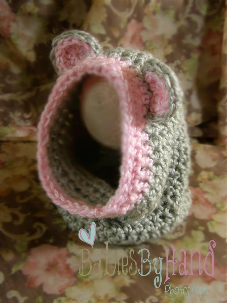 Crochet Baby Bear Cowl Pattern : hooded scarf: NEW 32 ANIMAL HOODED SCARF CROCHET PATTERN