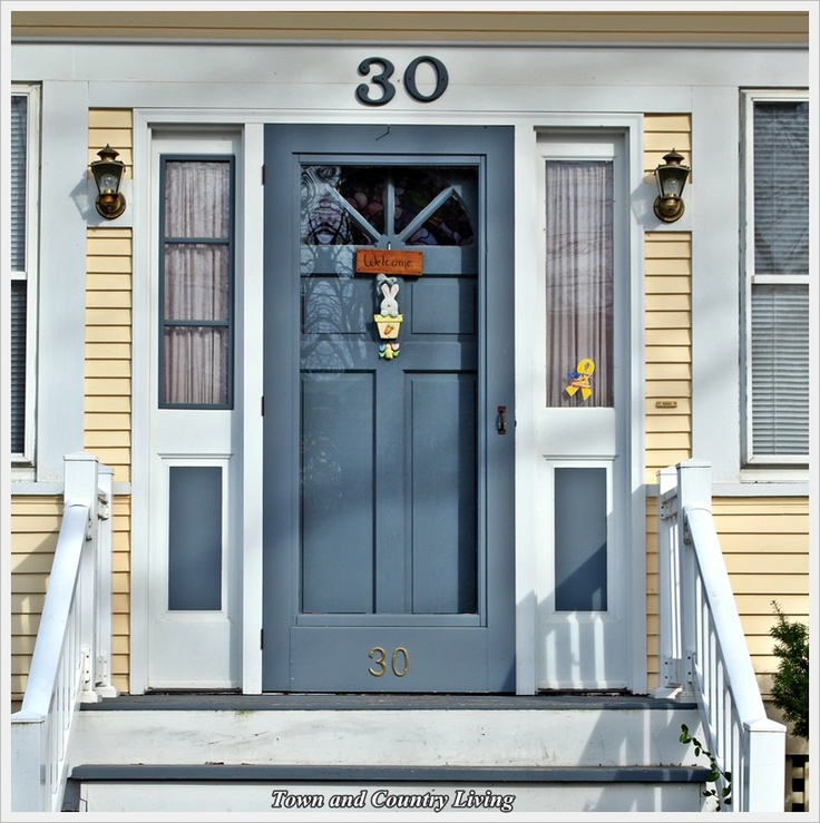 Matching storm door to front door color kitchen dreams for Front door with storm door