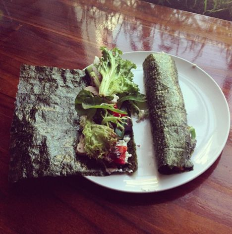 Chicken and Vegetable Nori Rolls | IQS | Headquarters | Pinterest