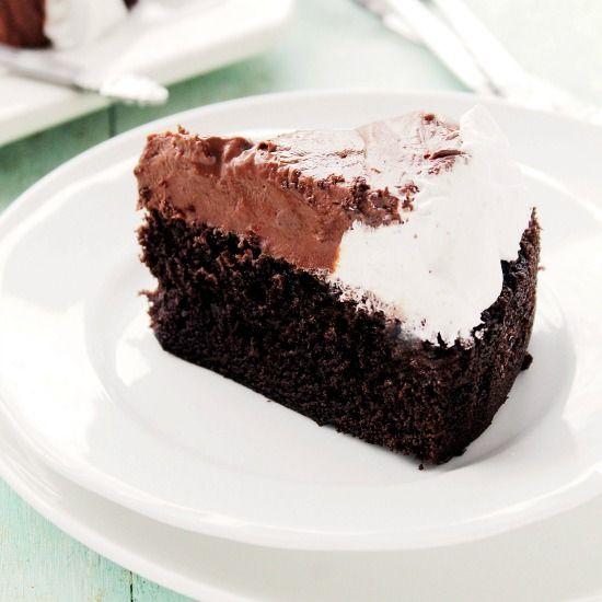Chocolate Mousse Cake Recipe Chocolate Mousse Cake