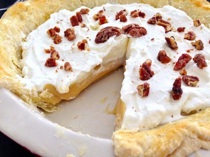 Maple Cream Pie.