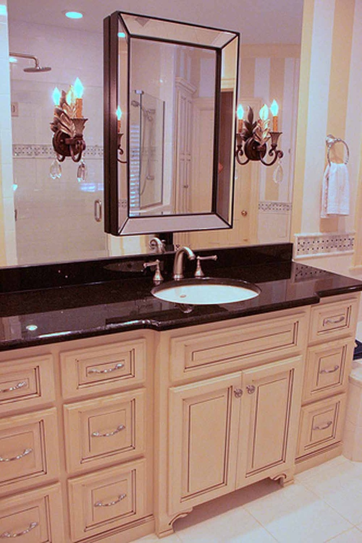 bathroom mirror  decorating ideas  Pinterest