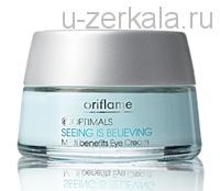 Oriflame крем для век Невероятный эффект Optimals seeing is Believing multi benefits eye cream