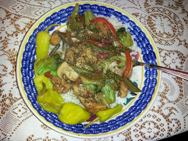 Homemade Chicken Stir-Fry