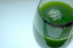 Green Lemonade - Celery, Romaine, Spinach, Kale, Apples & Lemons