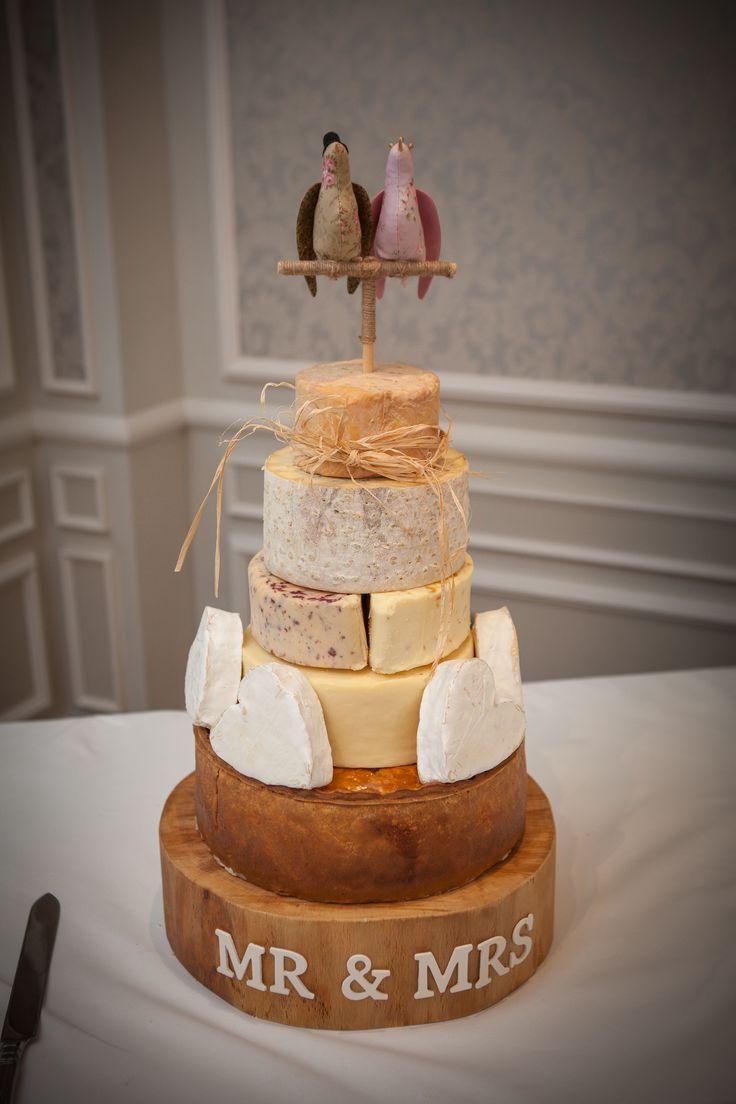 Cheese And Pie Wedding Cake